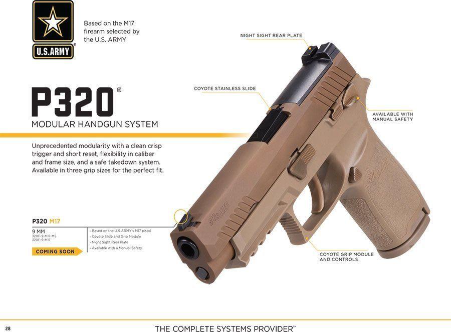 Sig M17 Detail