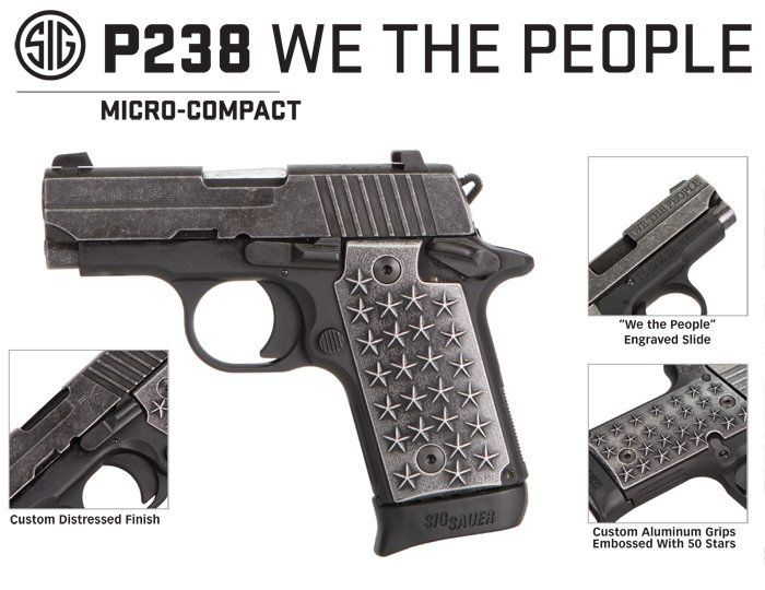 Sig P238 We the People Features