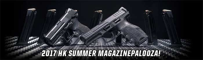 Heckler and Koch Summer 2017 Magazine Sale