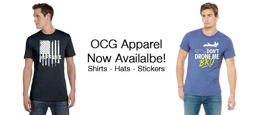 OCG Apparel Available