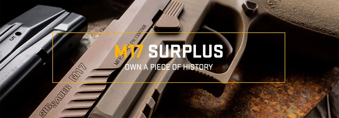 Sig M17 Surplus Header