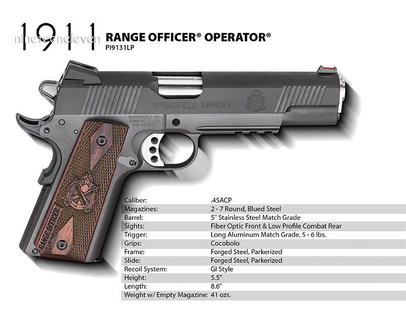 Springfield PI9131 Spec