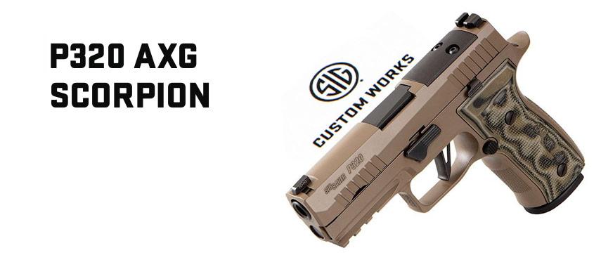 Sig Custom Shop P320 AXG