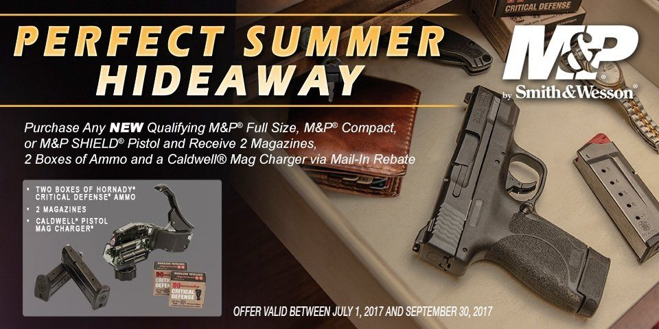 Smith and Wesson Summer Rebate